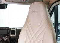 Sitz-Schonbezüge für Fiat Ducato - Elfenbeinweiß