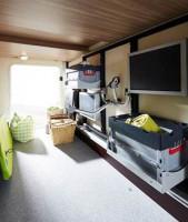 Système d'étagères de garage
