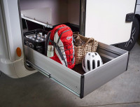 Gepäckbox ausziehbar