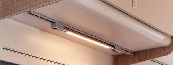 Light strip for power rail