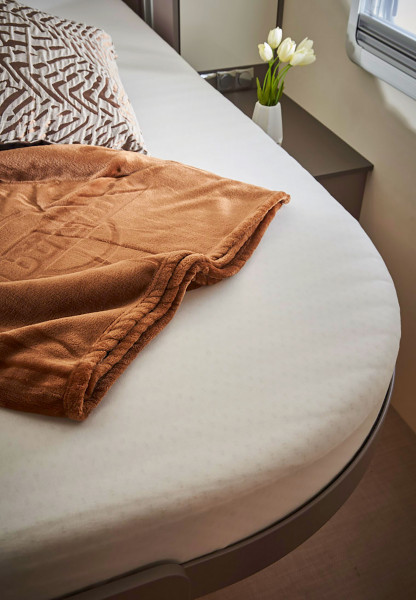 Fitted sheet - single bed