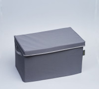 Folding box with lid