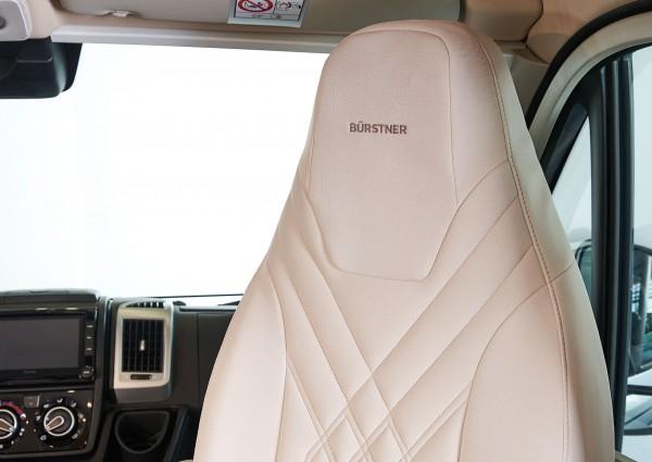 Seat protective cover Fiat Ducato - brown