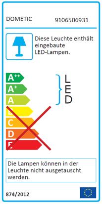 LED-Strahler für Stromschiene - Typ LISA