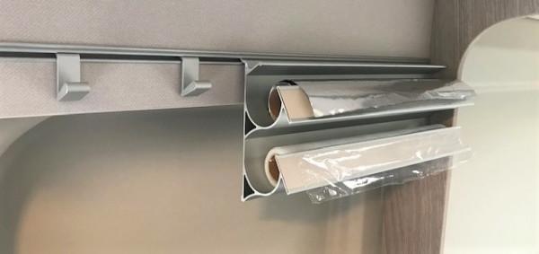 Folienhalter für Küchenschiene