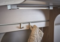 Hook for the kitchen rail system
